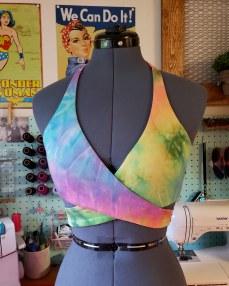 Tie Dye Wrap Bikini